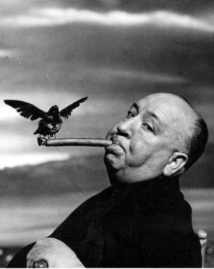Philippe Halsman - Alfred Hitchcock