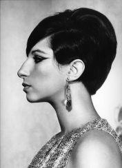 Philippe Halsman - Barbara Streisand