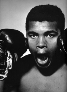Philippe Halsman - Muhammed Ali