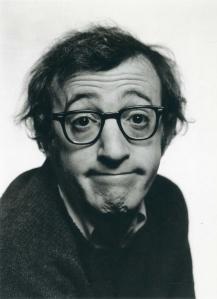 Philippe Halsman - Woody Allen