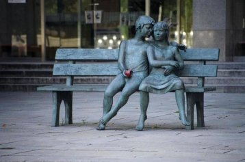 """Secret Bench"" dell'artista canadese Lea Vivot"