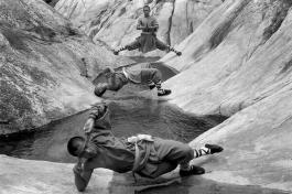 Shaolin Kung Fu Monks