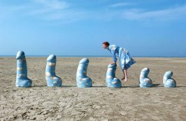 """Steeple Chase"" dell'artista olandese Cees Krijnen in collaborazione con Freudenthal Verhagen e Oscar Suleyman"