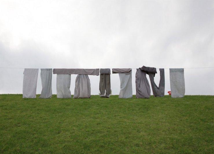 """Stonehenge"" dell'artista tedesco Markus Georg"