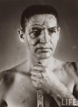 Terry Sawchuk - Il volto di un portiere di hockey prima dell'uso standard delle maschere, 1966