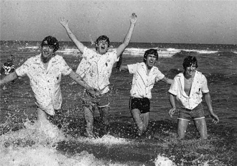 I Beatles, Miami Beach, 1964. Fotografia di Charles Trainor