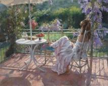 Dipinto dell'artista spagnolo Vicente Romero