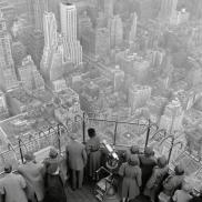 Vista dall'Empire State Building, 1950