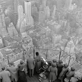 Vista dall'Empire State Building, 1950