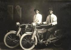 William Harley and Arthur Davidson - 1914