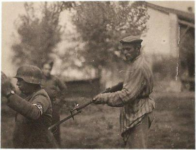 Un ebreo sopravvissuto all'Olocausto