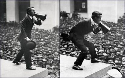 Charlie Chaplin, Wall Street, New York, 1918