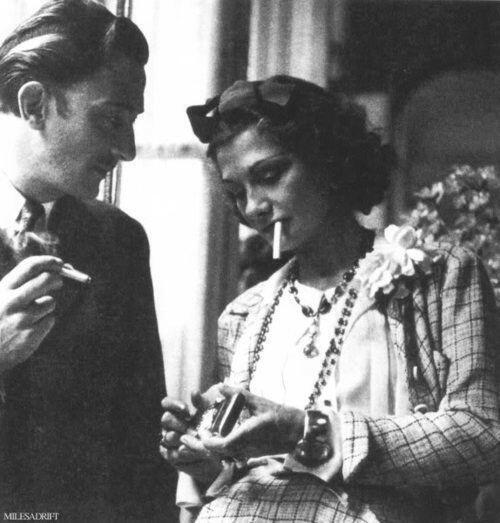 Salvador Dalí e Coco Chanel