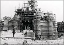 Disneyland in costruzione
