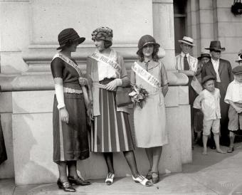 La prima Miss America, 1921