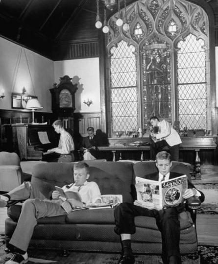 Confraternita di uomini alla University of the South, 1940