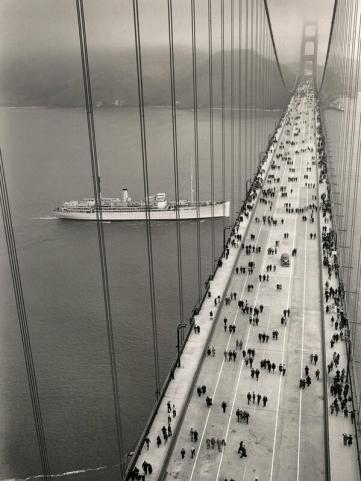 Golden Gate Bridge - inaugurazione. 1937