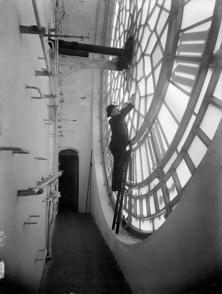 Dentro il Big Ben, Londra, 1920
