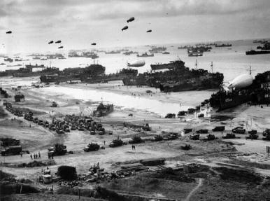 Invasione della Normandia, D-Day, 1944