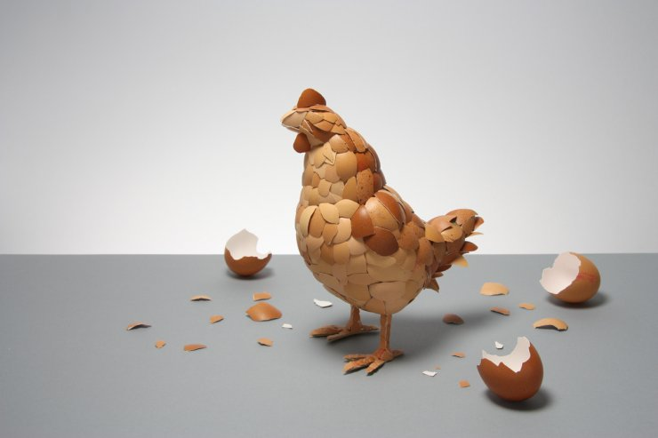 """""""The Hen""""dell'artista ingleseKyle Bean"""