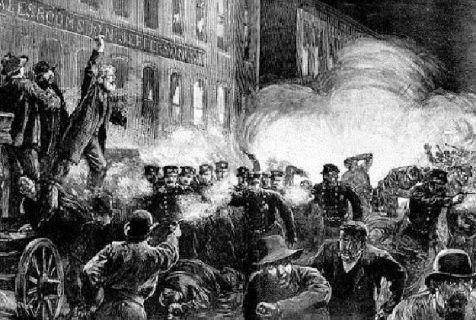 La drammatica rivolta di Haymarket a Chicago, 1886