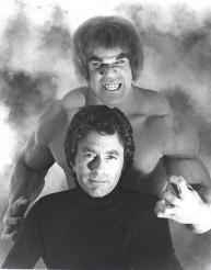 Lou Ferrigno e Bill Bixby, 1979