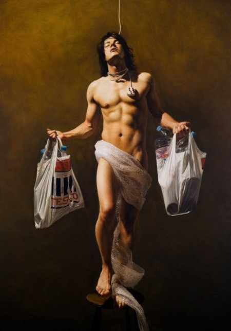 Dipinto dell'artista inglese Mitch Griffiths