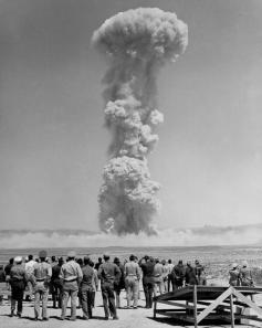 Test sulla bomba atomica in Nevada, 1953