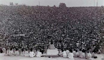 Cerimonia di apertura di Woodstock, 1969