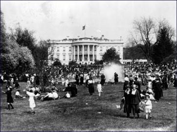 Il rotolamento di uova di Pasqua alla Casa Bianca