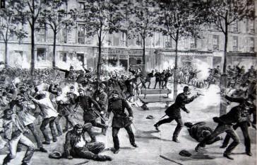 Sciopero del 1° maggio 1891 a Clichy