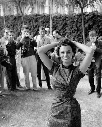 Sophia Loren al Festival di Venezia, 1958