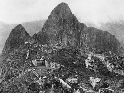 La prima foto della scoperta di Machu Picchu, 1912
