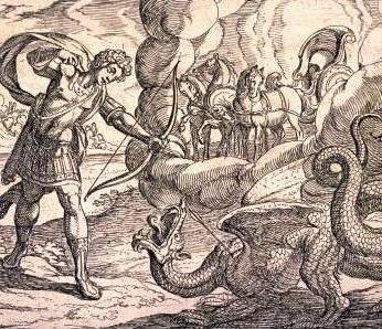 Apollo uccide Pitone