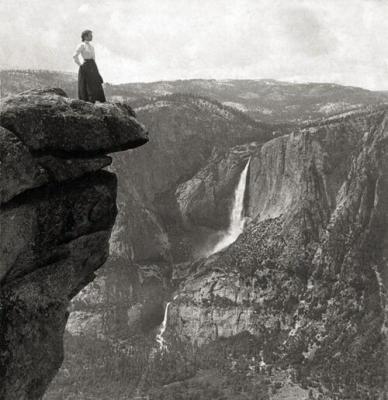 Le cascate di Yosemite da Underwood, 1902