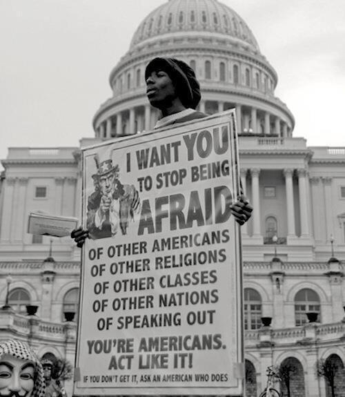 You're Americans. Act like it!