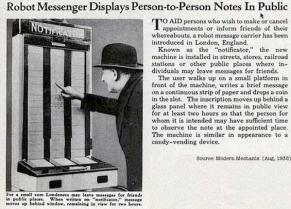 Precursore di twitter, 1935