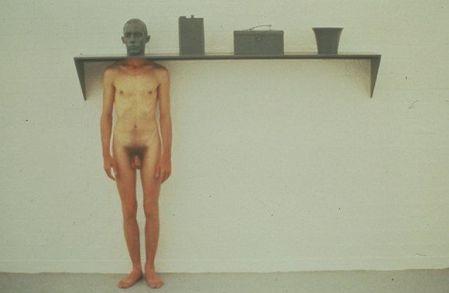 Installazione dell'artista americanoCharles Ray