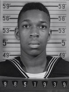 John Coltrane, Marina degli Stati Uniti, 1945