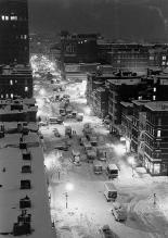 Tempesta di neve a New York, 1947
