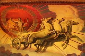 Oracolo di Delfi - Apollo e la quadriga