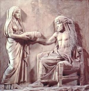 Oracolo di Delfi - Crono e Rea