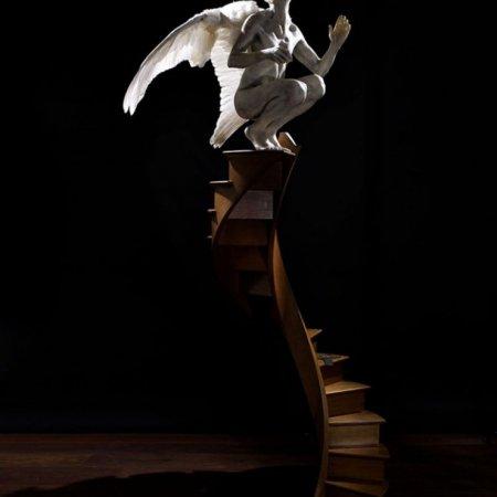 Installazione dell'artista inglese Paul Fryer