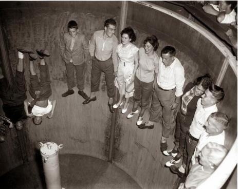 Rotor Ride, Coney Island, 1950