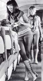 Hostess della Southwest Airlines, 1968