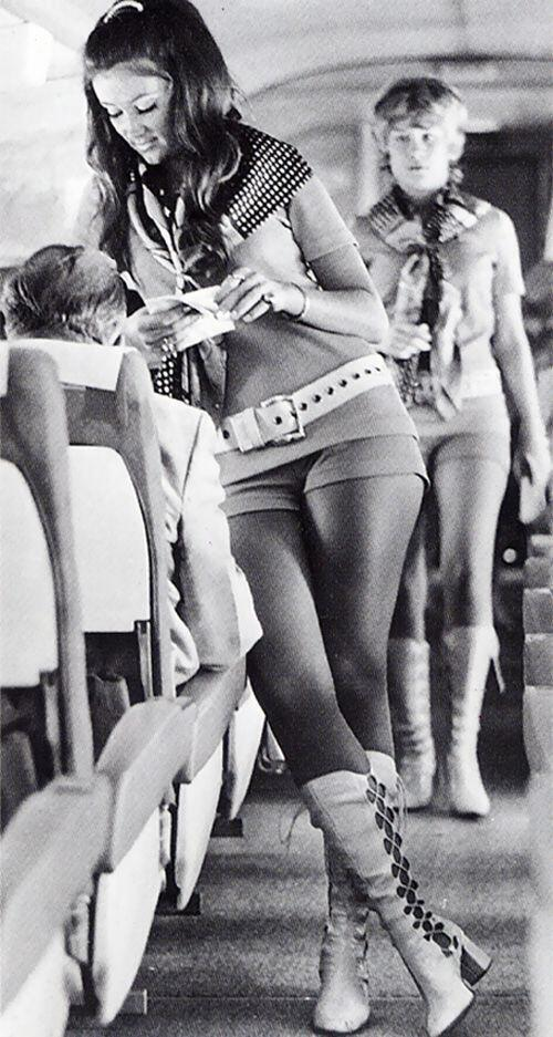 Hostess della Southwest Airlines, 1968