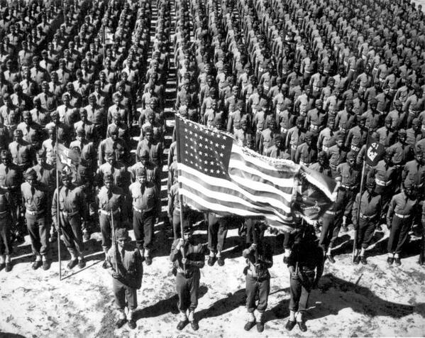 African American soldiers in World War II