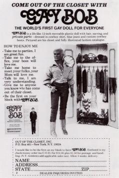 Gay Bob, 1977
