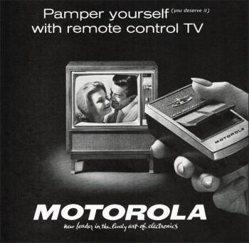 Telecomando per TV Motorola, 1962