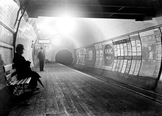 Metropolitana di Londra nel 1920